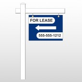 "For Lease 41 18""H x 24""W Swing Arm Sign"