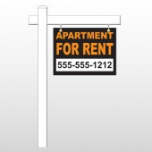 "For Rent 45 18""H x 24""W Swing Arm Sign"