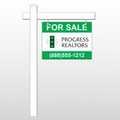 "Realtors 8 18""H x 24""W Swing Arm Sign"