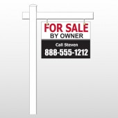 "Sale By Owner 30 18""H x 24""W Swing Arm Sign"