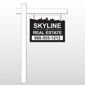 "Skyline 38 18""H x 24""W Swing Arm Sign"
