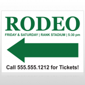 Rodeo 77 Custom Sign