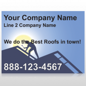 Roofing 258 Site Sign
