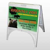 Bear Zoo 302 A Frame Sign