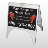 Monkey Wrench 257 A-Frame Sign
