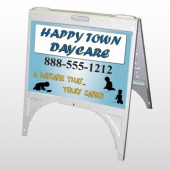 True Happy Care 182 A Frame Sign