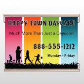 Happy Town 181 Track Banner