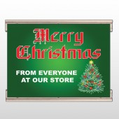 Merry Christmas 29 Track Banner