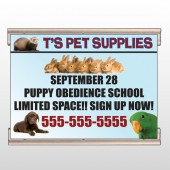 Pet Supplies 305 Track Banner