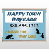 True Happy Care 182 Track Banner