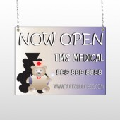 Nurse Bear 504 Window Sign