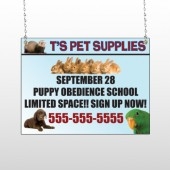 Pet Supplies 305 Window Sign