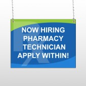 RX Hiring 286 Window Sign