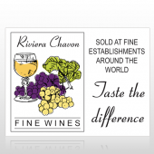 Wine 145 Custom Decal