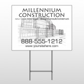 Builder 36 Wire Frame Sign