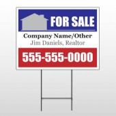 For Sale 134 Wire Frame Sign
