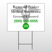 Med 51  Wire Frame Sign