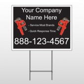 Monkey Wrench 257 Wire Frame Sign