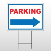 Parking 78 Wire Frame Sign