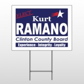 Political 11 Wire Frame Sign