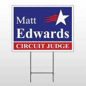 Political 20 Wire Frame Sign