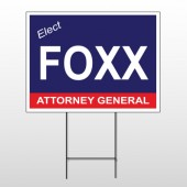 Political 30 Wire Frame Sign
