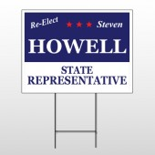 Political 44 Wire Frame Sign