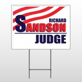Political 46 Wire Frame Sign