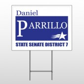 Political 65 Wire Frame Sign