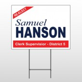 Political 66 Wire Frame Sign