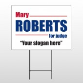 Political 7 Wire Frame Sign