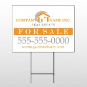 Real Estate 103 Wire Frame Sign