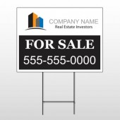 Real Estate Investors 101 Wire Frame Sign