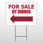 Sale By Owner 24 Wire Frame Sign