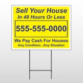 Sell Your House 151 Wire Frame Sign