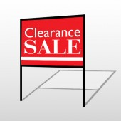 Clearance 79 H-Frame Sign