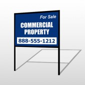 Commercial 56 H-Frame Sign