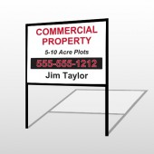 Commercial 58 H-Frame Sign