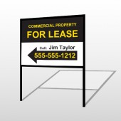 For Lease 42 H-Frame Sign