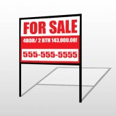 For Sale 109 H-Frame Sign