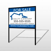 For Sale 110 H-Frame Sign