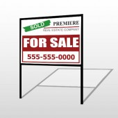For Sale 130 H-Frame Sign