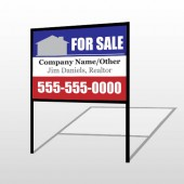For Sale 134 H-Frame Sign