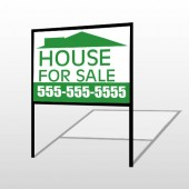 House For Sale 111 H-Frame Sign