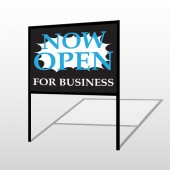 Now Open 90 H-Frame Sign