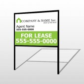 Real Estate 104 H-Frame Sign