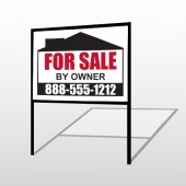 Sale By Owner 29 H-Frame Sign