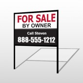 Sale By Owner 30 H-Frame Sign
