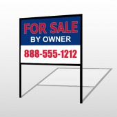 Sale By Owner 31 H-Frame Sign