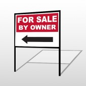Sale By Owner 33 H-Frame Sign